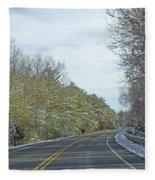 Winter Cruise Fleece Blanket