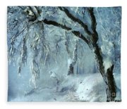 Winter Dreams Fleece Blanket