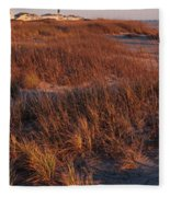 Winter Dunes Iv Fleece Blanket