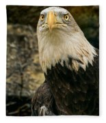 Winter Eagle Fleece Blanket