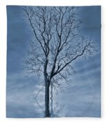 Winter Floods Fleece Blanket