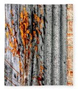 Winter Foliage Tin 13134 Fleece Blanket