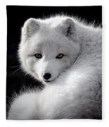 Winter Fox Fleece Blanket