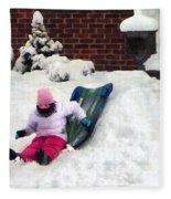 Winter Fun Fleece Blanket