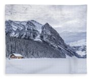 Winter Getaway Fleece Blanket