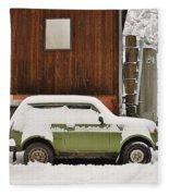 Under Snow Fleece Blanket
