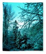 Winter In Denmark Fleece Blanket