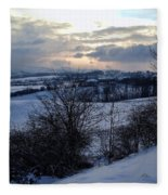 Winter Landscape Fleece Blanket