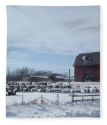 Winter Museum Fleece Blanket