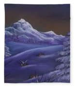 Winter Night Fleece Blanket