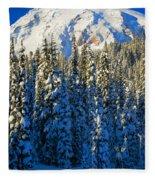 Winter Peak Fleece Blanket