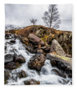 Winter Rapids V2 Fleece Blanket