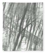 Winter Road Dream Fleece Blanket