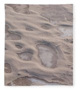 Winter Sand Art Fleece Blanket