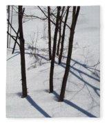 Winter Silence Fleece Blanket