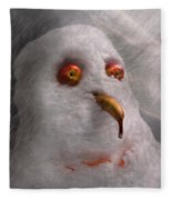 Winter - Snowman - What Are You Looking At Fleece Blanket