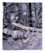 Winter Solemn Fleece Blanket