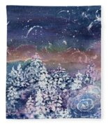 Winter Solstice  Fleece Blanket