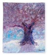 Winter Solstice Fleece Blanket