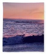 Winter Sunset In Laguna Beach IIi Fleece Blanket