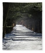 Winter Trail Fleece Blanket