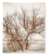 Winter Tree Fleece Blanket
