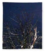Winter Treetop Fleece Blanket