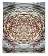Winter Versus Spring Thaw Fleece Blanket