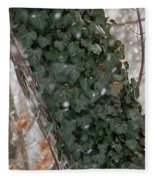 Winter Vine Fleece Blanket