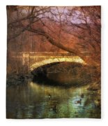 Winter Waters Fleece Blanket