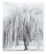 Winter Willow Fleece Blanket