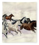 Winter Wishperer Fleece Blanket