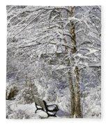 Winter Wonderland 9 Fleece Blanket