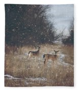 Winter Wonders Fleece Blanket