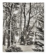 Winter Zauber 03 Fleece Blanket