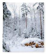 Winterland Fleece Blanket