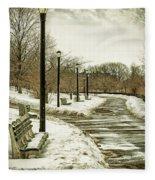 Winters Beauty Fleece Blanket