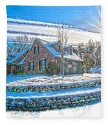 Winters Day Photoart 6 Fleece Blanket