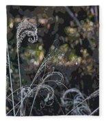 Winters Flourishes  Fleece Blanket