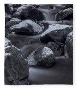 Winters Flow 2 Fleece Blanket