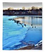 Winter's Grip Fleece Blanket