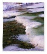 Winters Ice Fleece Blanket