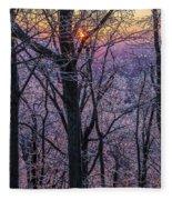 Winter's Light Fleece Blanket