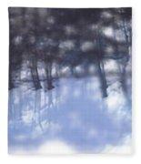 Winters' Shadow Fleece Blanket