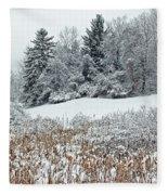 Winterscape Fleece Blanket