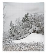 Wintery Fun Fleece Blanket