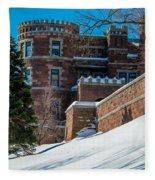 Wintery Lambert Castle Fleece Blanket