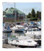 Winthrop Harbor Fleece Blanket