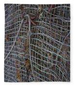 Wire Mesh Fleece Blanket