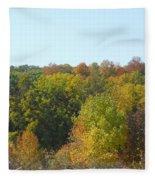 Wisconsin Colors Fleece Blanket